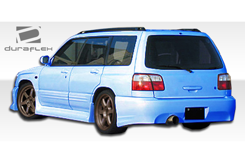 2002 Subaru Forester Duraflex L-Sport Sideskirts
