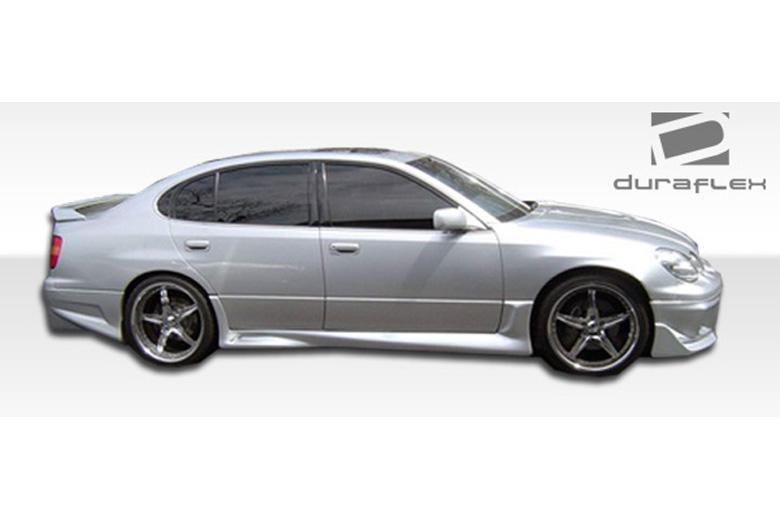 2000 Lexus GS Duraflex Cyber Sideskirts