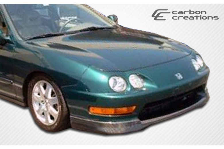 Carbon Creations Acura Integra 1998 2001 Type R Front Lip Add On