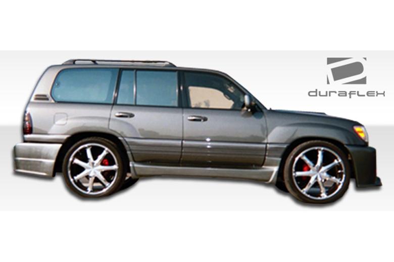 2005 Lexus LX Duraflex Platinum Sideskirts