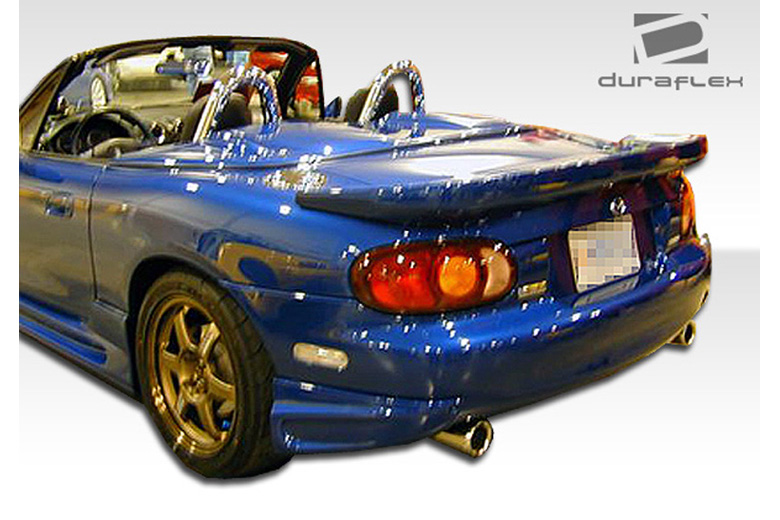 1998 Mazda Miata Duraflex Bomber Rear Lip (Add On)