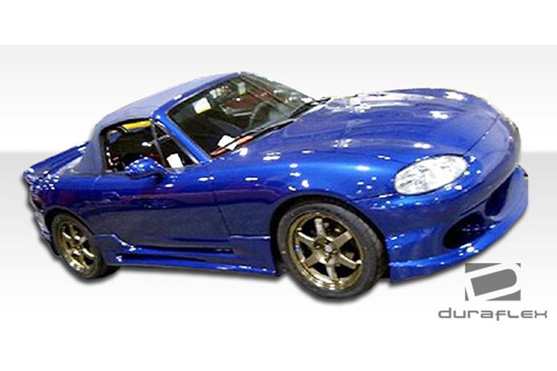 2004 Mazda Miata Duraflex Bomber Sideskirts