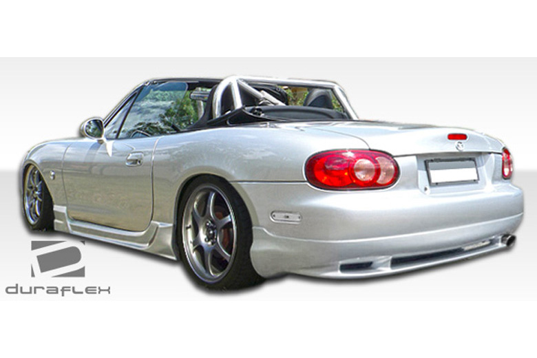 1998 Mazda Miata Duraflex Wizdom Rear Lip (Add On)