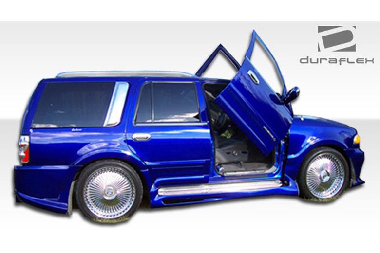 2002 Lincoln Navigator Duraflex Platinum Sideskirts
