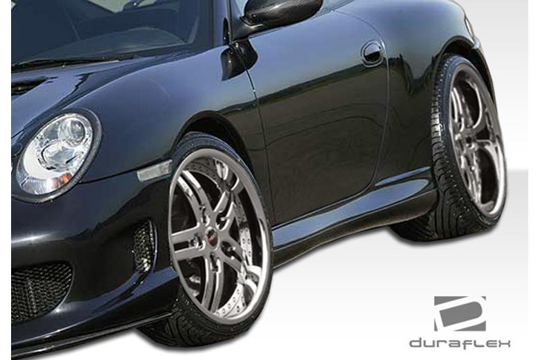 2002 Porsche 911 Duraflex G-Sport Sideskirts