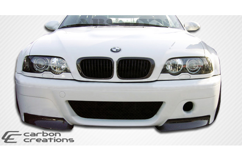 2004 BMW 3-Series Carbon Creations CSL Look Bumper (Front)