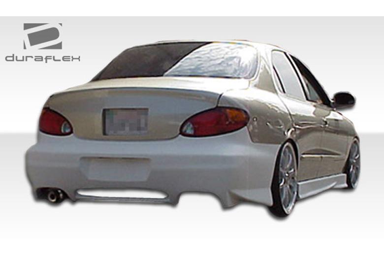 2000 Hyundai Elantra Duraflex Evo 2 Bumper (Rear)