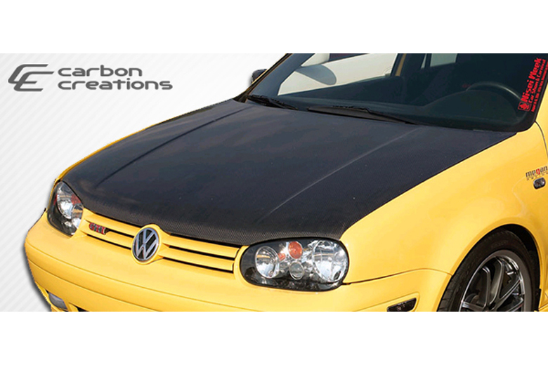 2002 Volkswagen Golf Carbon Creations Hood