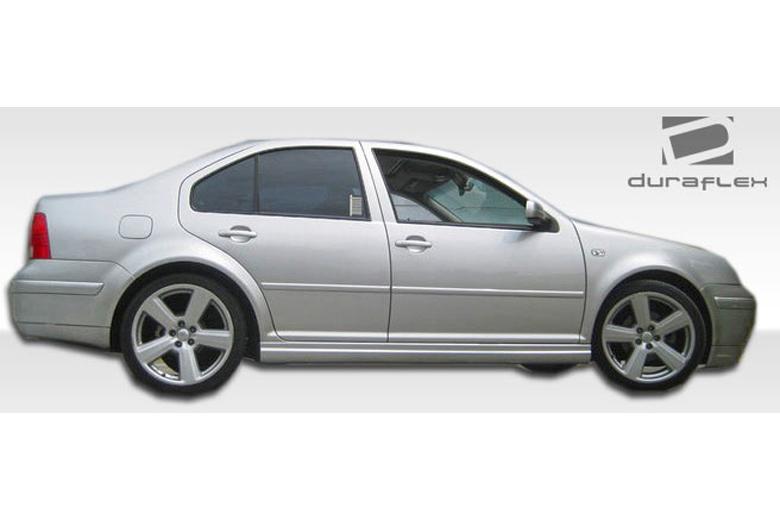 2003 Volkswagen Golf Duraflex GLI Look Sideskirts