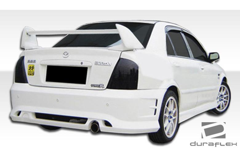2001 Mazda Protege Duraflex Elixir Bumper (Rear)