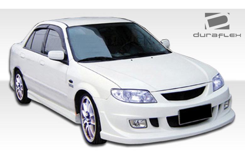2001 Mazda Protege Duraflex Elixir Sideskirts