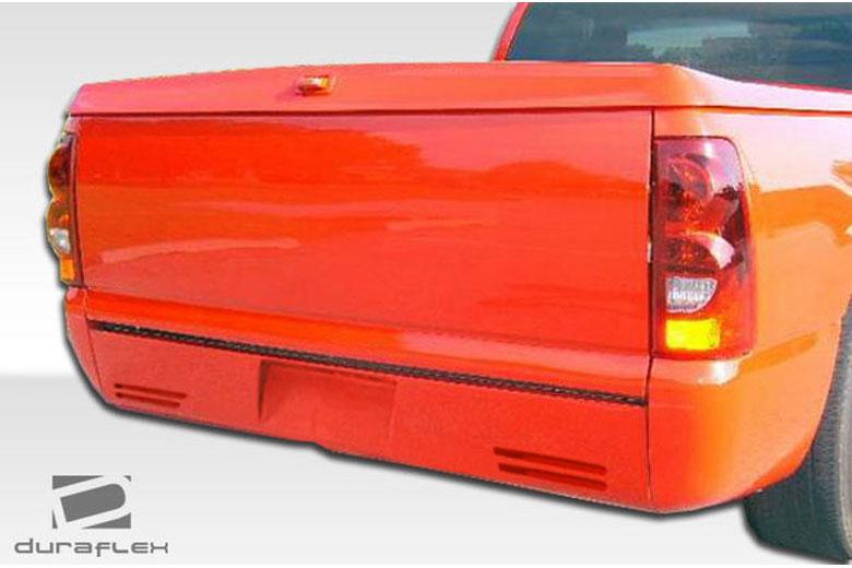 2001 Chevrolet Sierra Extreme Dimensions C-5 Rear Lip (Add On)