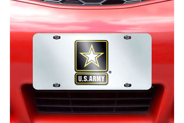 Military License Plates