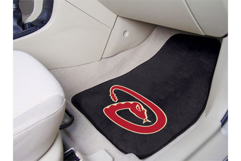 MLB Front Carpeted Floor Mats