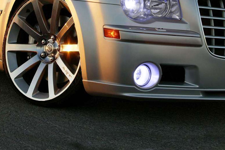2005 Mitsubishi Evolution Custom Fog Light Protection Kits