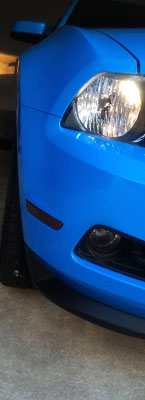 Ford Mustang Smoked Fog Light Tints