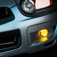 Subaru Yellow Smoked Fog Lamps