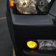 Toyota Yellow Fog Light Covers