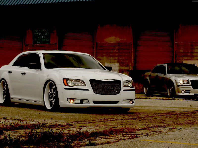 2012 Chrysler 300 Fog Light Tint Covers