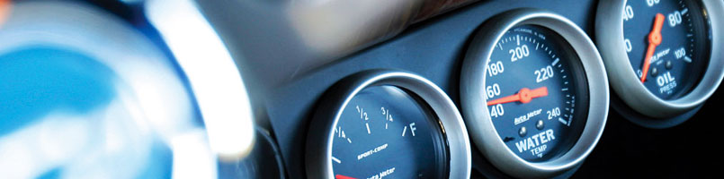 Dash Mounted Gauges