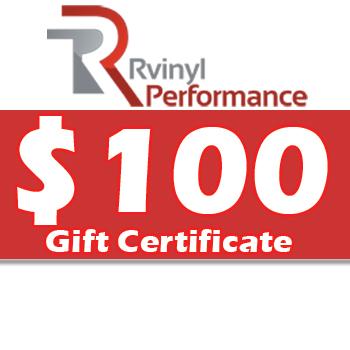 Rvinyl $100 Gift Certificate