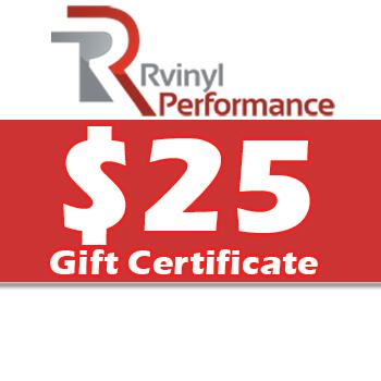 Rvinyl $25 Gift Certificate