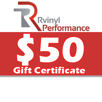 Rvinyl $50 Gift Certificate
