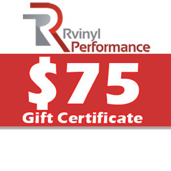 Rvinyl $75 Gift Certificate