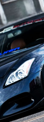 Infiniti G37 Clear Headlight Protectors