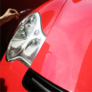 Headlight Protection Installation