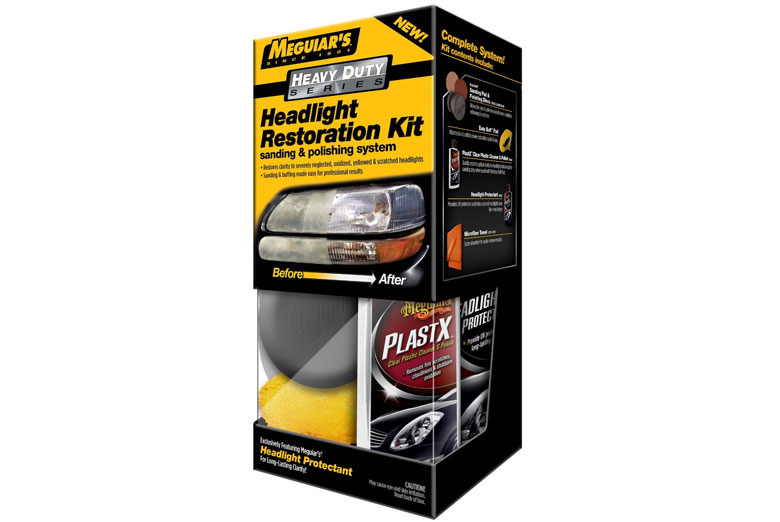 2013 Ford Fusion Meguiars Headlight Restoration Kit