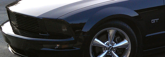 Ford Mustang Headlight Covers