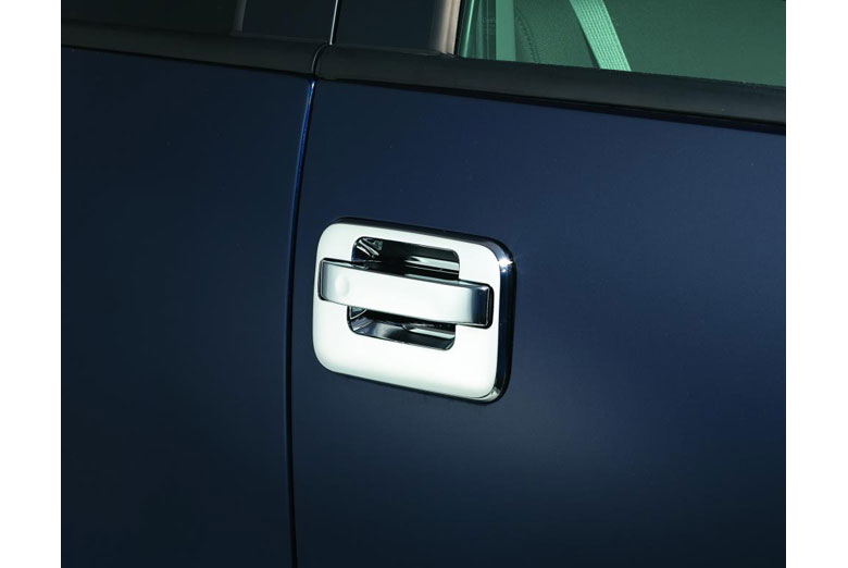 2013 Ford F-150 Chrome Door Handle Covers W/ Keypad (2 Door)