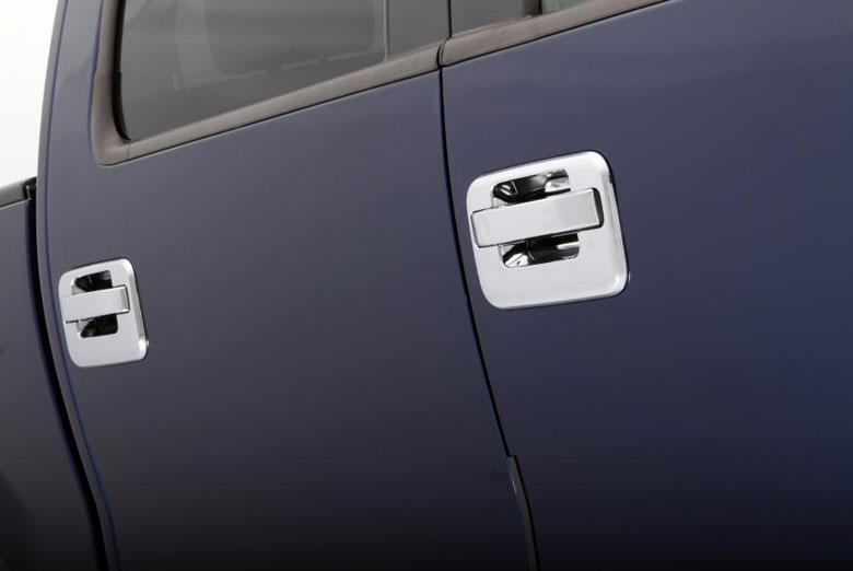 2012 Ford F-150 Chrome Door Handle Covers W/ Keypad (4 Door)