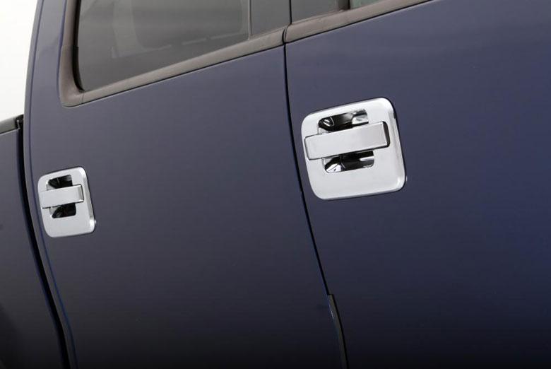 2013 Ford F-150 Chrome Door Handle Covers W/ Keypad (4 Door)
