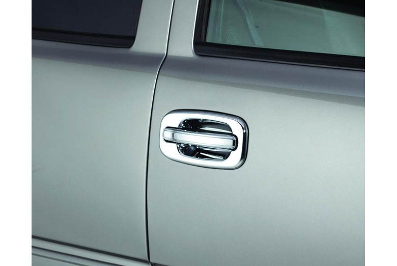 2003 Chevrolet Silverado Chrome Door Handle Covers W/O Passenger Keyhole (2 Door)