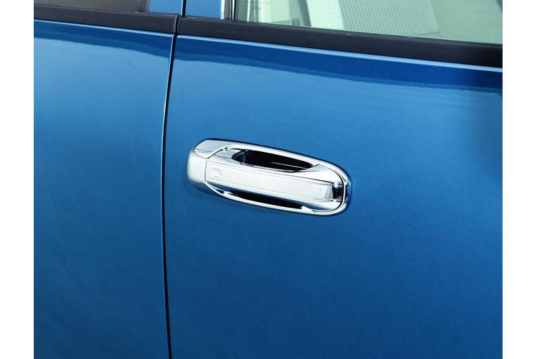 2004 Dodge Durango Chrome Door Handle Covers W/O Passenger Keyhole (4 Door)