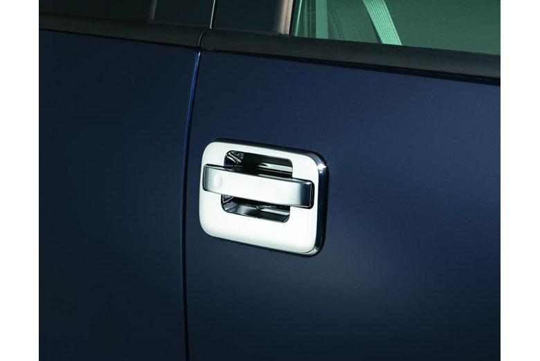 2004 Ford F-150 Chrome Door Handle Covers W/O Passenger Keyhole W/O Keypad (2 Door)