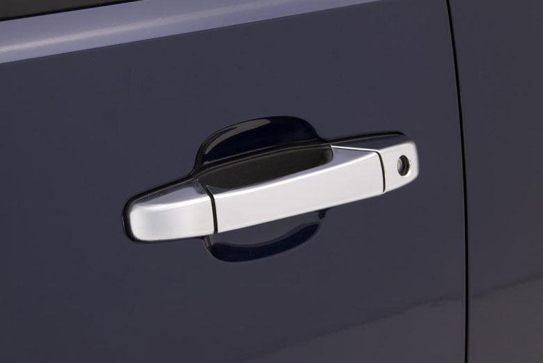 2012 Ford F-150 Chrome Door Lever Covers (2 Door)