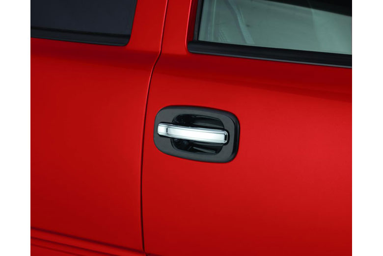 2003 Chevrolet Silverado Chrome Door Lever Covers (4 Door)