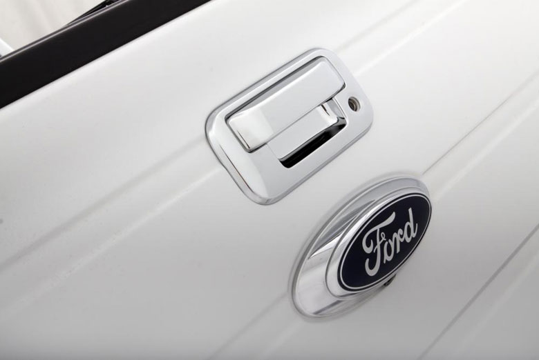 2013 Ford F-150 Chrome Tailgate Handle Covers