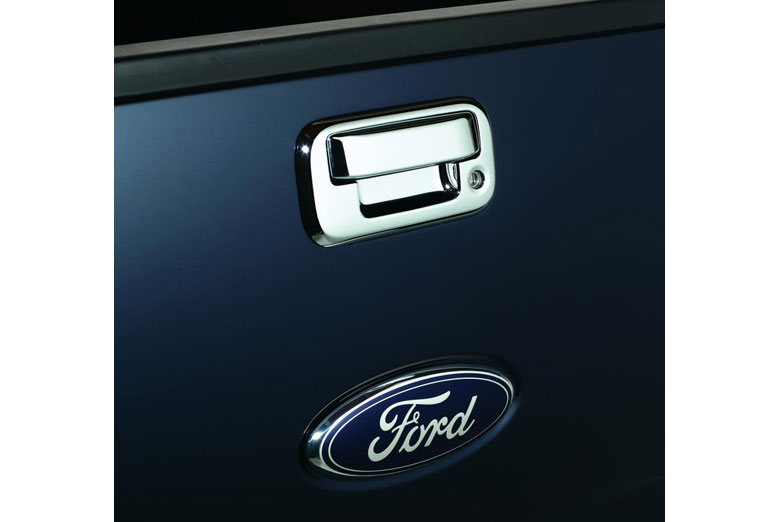 2001 Ford F-150 Chrome Tailgate Handle Covers