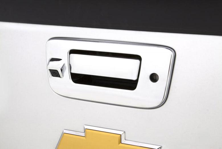 2008 Chevrolet Silverado Chrome Tailgate Handle Covers