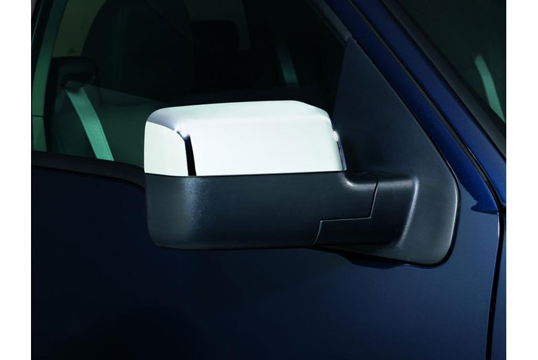 2004 Ford F-150 Chrome Mirror Covers