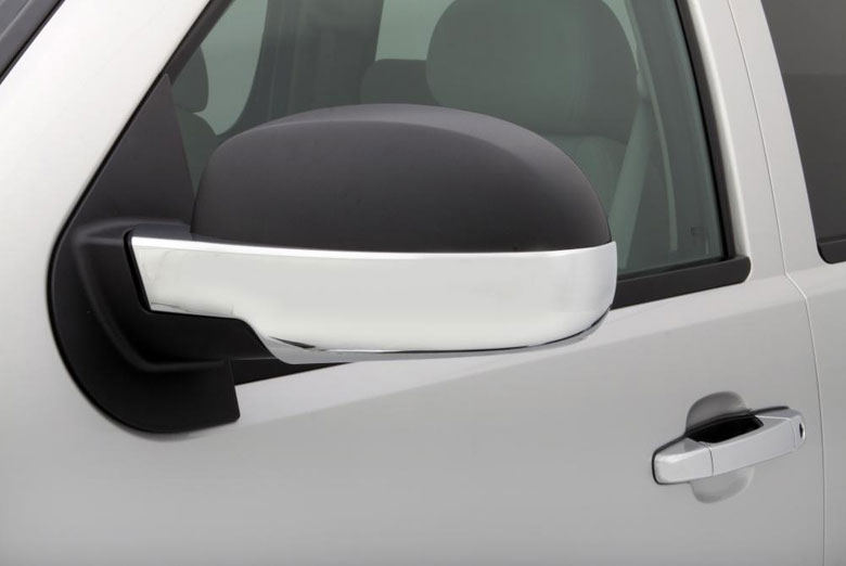 2010 Chevrolet Suburban Chrome Lower Mirror Covers