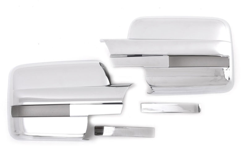 2010 Ford F-150 Chrome Mirror Covers