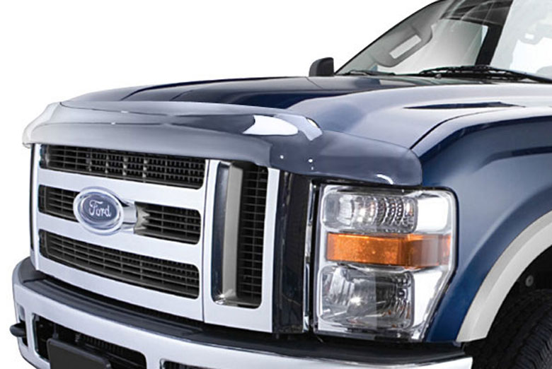 2004 Ford F-250 AVS Bugflector II Clear Hood Shield