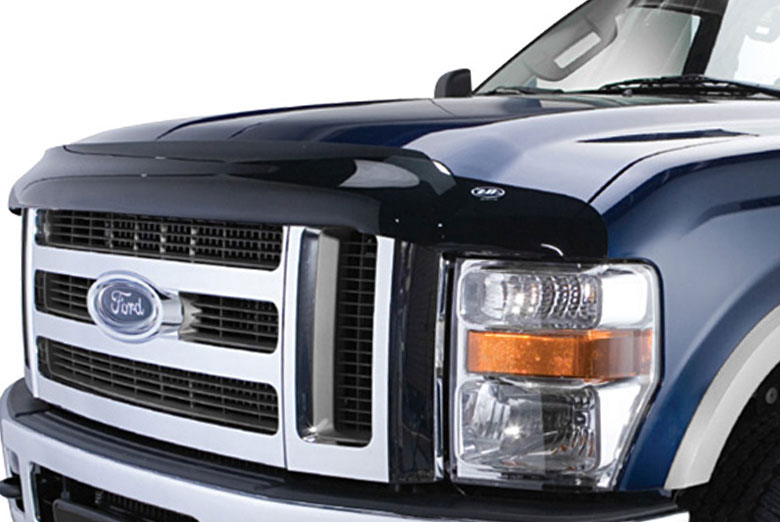 2014 Ford F-550 AVS Bugflector II Smoke Hood Shield