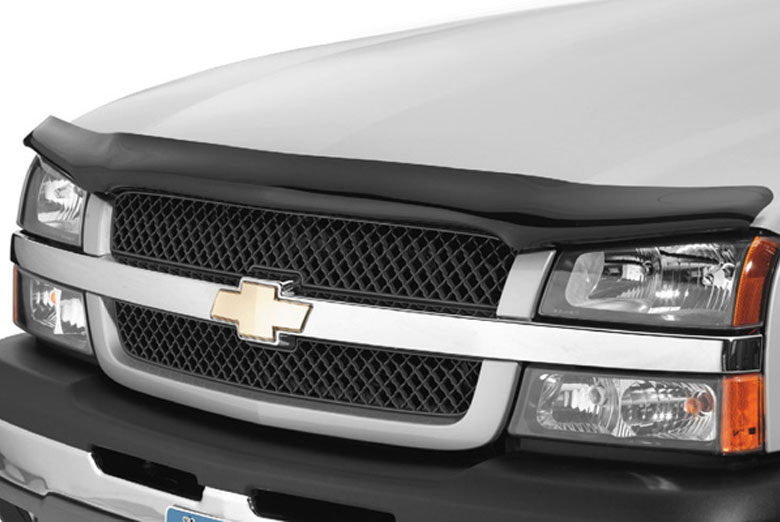 2008 Dodge Ram AVS Bugflector Smoke Hood Shield