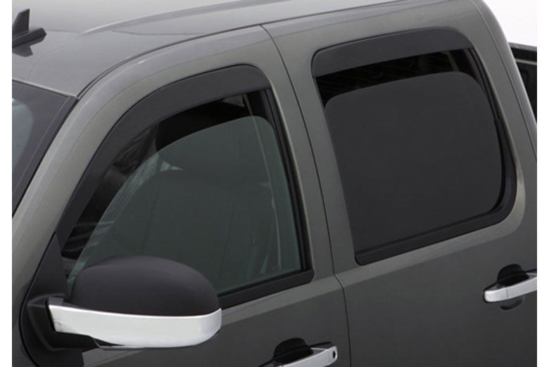 AVS Ventshade Black Window Visor Wind Deflectors (Sedan)